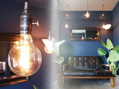 レトロアンティークな雰囲気に!建築事務所のインテリアに「オールドミラーシリーズ G-10200」を使用した事例(神奈川県Y様)