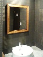 洗面所に使用したアンティークミラー(22-6382)