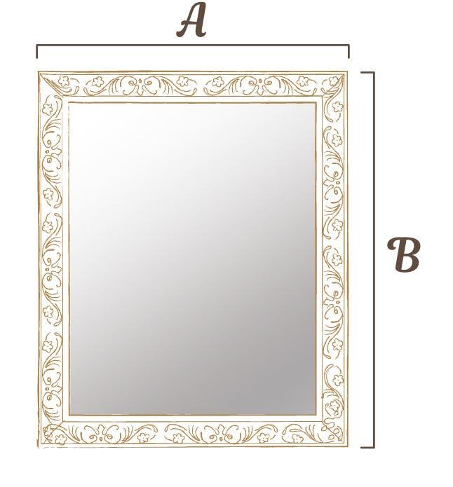 鏡を壁にかける際の補強