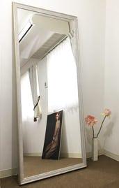 大型の鏡もオーダーメイドで